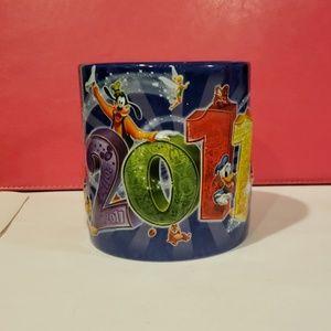 Authentic Original 2011 Disney Parks Mug.